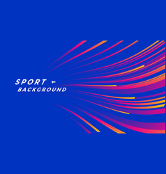 Sport event poster layout design template vector