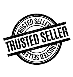 Trusted Seller rubber stamp vector image