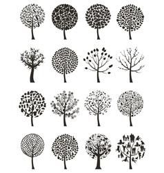 Wood tree vector image vector image