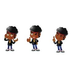 Afro guy 2 vector