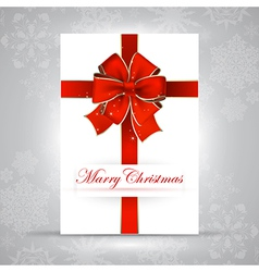 Merry Christmas background RGB vector image