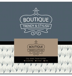 logo Clothing made of fur and leather The texture vector image