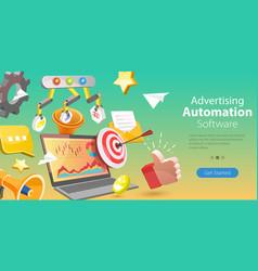 3d conceptual advertising vector