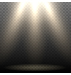 Empty Stage Lighting vector image