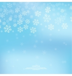 Gentle winter abstract background vector