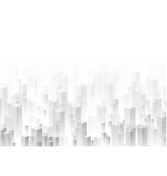 gray perspective 3d geometric background vector image