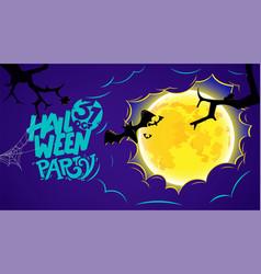 Happy halloween party 31 of october vector