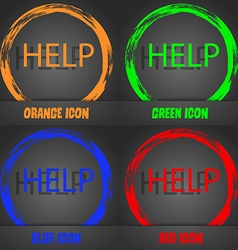 Help point sign icon Question symbol Fashionable vector