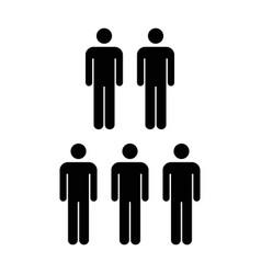 People icon - men vector