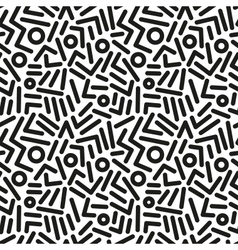 Seamless abstract background with lines vector