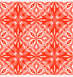 Seamless pattern with arabesques vector