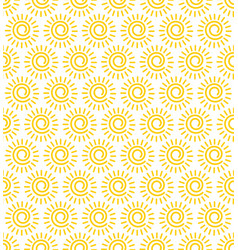 Sun seamless pattern the whole image is vector