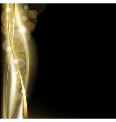 Luxury Background Blackand Gold vector image