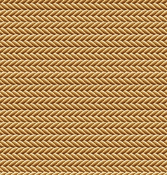 Seamless Brown Rope Texture vector image vector image