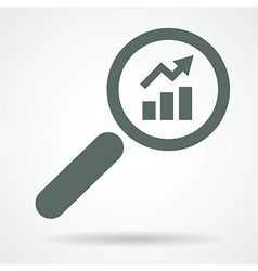 looking for positive result vector image