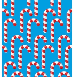 Red striped candy holiday Christmas and new years vector image vector image