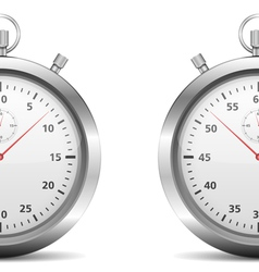 Half of a stopwatch vector image vector image