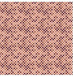 Dark brown seamless square pattern background vector