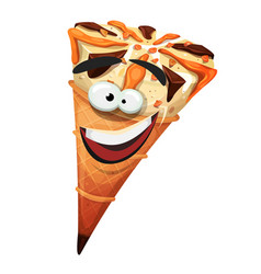 ice cream cone character vector image