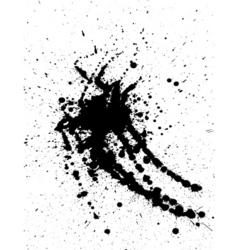 Ink splat design vector