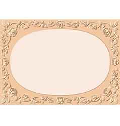 Peach-colored background vector
