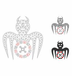 Roulette spectre devil mesh network model vector