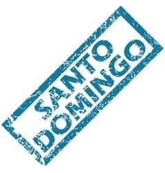Santo Domingo rubber stamp vector