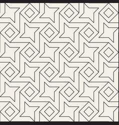 Seamless lattice pattern modern stylish abstract vector