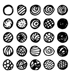 Set Of Hand Drawn Doodle Borders vector
