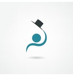 gentleman icon vector image
