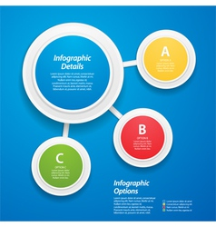 3d design element background vector image vector image