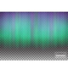 Aurora Beautiful Natural Effect for Design vector image