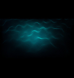 abstract particle wave vector image