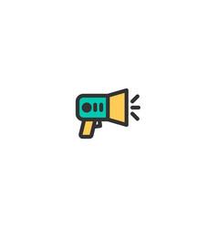 announcement icon design e-commerce icon design vector image