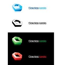 design element nut vector image