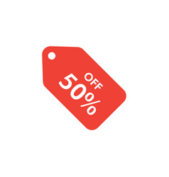 discount tag graphic design template isolated vector image