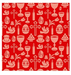 Easter seamless patterns vector
