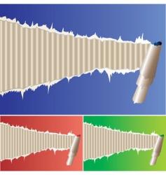 Frame papir vector