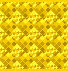 Golden abstract diagonal square pattern vector