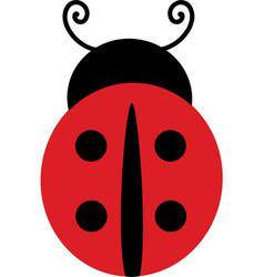 Ladybug valentines day svg vector