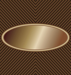 oval-label vector image
