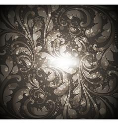Seamless Floral Wallpaper Pattern vector