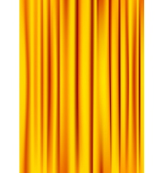 silky curtain vector image
