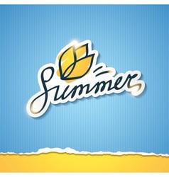 Summer eps 10 vector