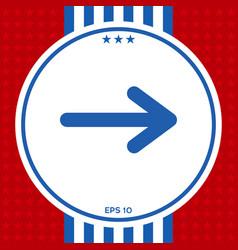 arrow icon symbol vector image