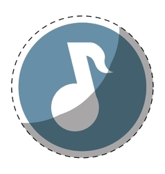 music player button thumbnail icon image vector image vector image