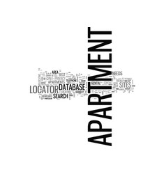 apartment locators how do they make their money vector image vector image