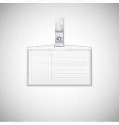 Badge holder vector