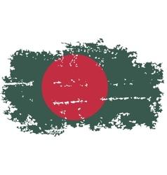 Bangladesh grunge flag vector
