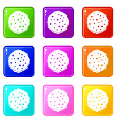 Cutlets set 9 vector